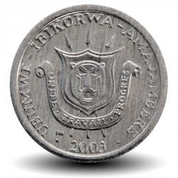 BURUNDI - PIECE de 1 Franc - Armoiries du Burundi - 1980