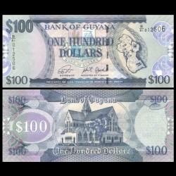 GUYANA - Billet de 100 DOLLARS - 2019