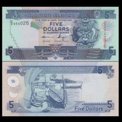 SALOMON (ILES) - Billet de 5 DOLLARS - 2012 P26a3