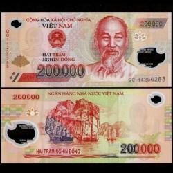 VIETNAM - Billet de 200000 Dong - Polymer - 2014