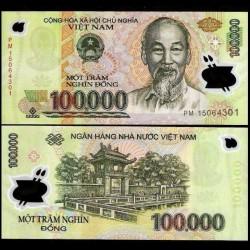 VIETNAM - Billet de 100000 Dong - Polymer - 2015