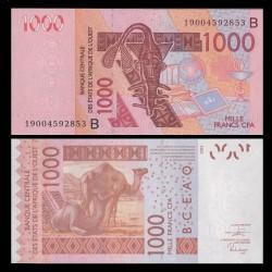 BENIN - Billet de 1000 Francs - Chameaux - 2019 P615Bs