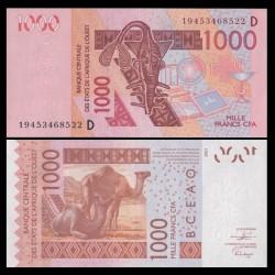 BCEAO - MALI - Billet de 1000 Francs - Chameaux - 2003 / 2019 P415P