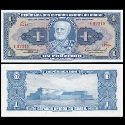 BRESIL - Billet de 1 Cruzeiro - 1954 / 1958