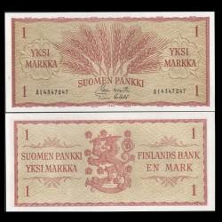 FINLANDE - Billet de 1 MARKKAA - Blé - 1963 P98a(36)