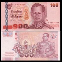THAILANDE - Billet de 100 Baht - Roi Rama V - 2005
