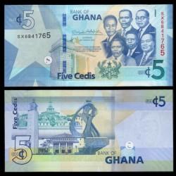 GHANA - Billet de 5 Cedis - 2019