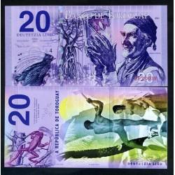 TOROGUAY - Billet de 20 LIXO - Sergi Fonte - 2017 0020