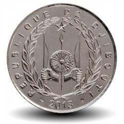 DJIBOUTI - PIECE de 100 FRANCS - Deux dromadaires - 2013