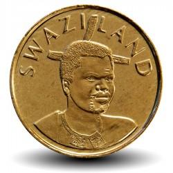SWAZILAND - PIECE de 1 Lilangeni - Mswati III - Reine mère Ntmobi Tfwala - 2008