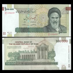 IRAN - Billet de 100000 Rials - Tombe de Saadi - 2018 P151c