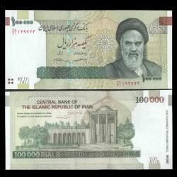 IRAN - Billet de 100000 Rials - Tombe de Saadi - 2018