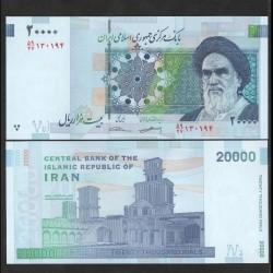 IRAN - Billet de 20000 Rials - Palais du Golestan - 2018