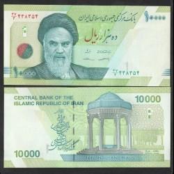 IRAN - Billet de 10000 Rials - Tombe de Hafez - 2018