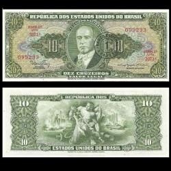 BRESIL - Billet de 1 Centavo - Getúlio Vargas - 1966