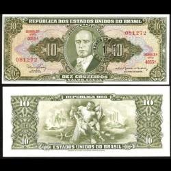 BRESIL - Billet de 1 Centavo - Getúlio Vargas - 1967 P183b