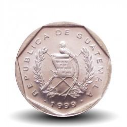 GUATEMALA  - PIECE de 1 Centavo - Bartolome de las Casas - 1999