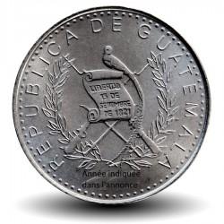 GUATEMALA - PIECE de 10 Centavos - StèleMaya - 1996