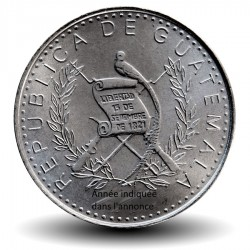 GUATEMALA- PIECE de 25 Centavos - Femme indigène - 1995