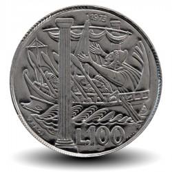 SAINT-MARIN - PIECE de 100 Lire - Le navire d'Ulysse - 1973