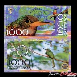 COLOMBIE - La moneda - Billet de 1000 Cafeteros - 2016 01000