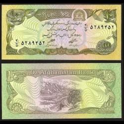 AFGHANISTAN - Billet de 10 Afghanis - 1979 P55a