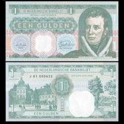 PAYS BAS - Billet de 1 GULDEN - Guillaume Ier / Koning Willem I - 2019 0001 - J - Gabris
