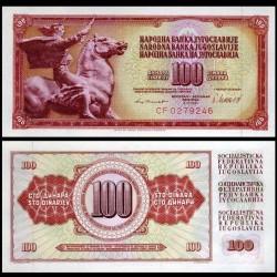 YOUGOSLAVIE - Billet de 100 Dinara - 4 XI 1981