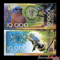 COLOMBIE - La moneda - Billet de 10000 Cafeteros - 2016