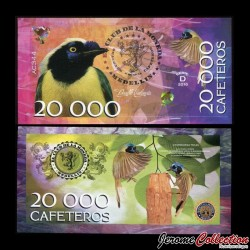 COLOMBIE - La moneda - Billet de 20000 Cafeteros - 2016