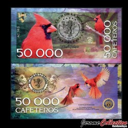 COLOMBIE - La moneda - Billet de 50000 Cafeteros - 2016