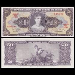 BRESIL - Billet de 5 Centavos - Princesse Isabel - 1966