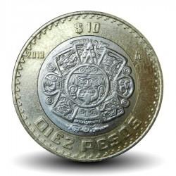 MEXIQUE - PIECE de 10 Pesos - Bimétal - 2013