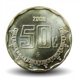 MEXIQUE - PIECE de 50 Centavos - 2008