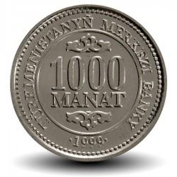TURKMENISTAN - PiECE de 1000 Manat - Saparmurat Niyazov - 1999 Km#13