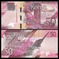 KENYA - Billet de 50 Shillings - Centre de convention international Kenyatta - 2019 P52a
