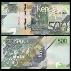 KENYA - Billet de 500 Shillings - Centre de convention international Kenyatta - 2019