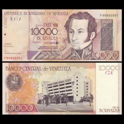VENEZUELA - Billet de 10000 Bolivares -Antonio José de Sucre - 2006 P85e