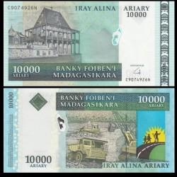 MADAGASCAR - Billet de 10000 Ariary - 2008