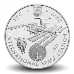 KAZAKHSTAN - PIECE de 50 Tenge - Station spatiale internationale / ISS - 2013 Km#New