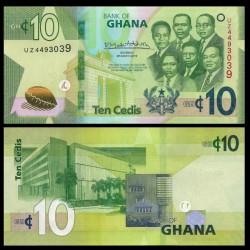 GHANA - Billet de 10 Cedis - 2019