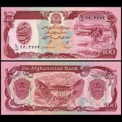 AFGHANISTAN - Billet de 100 Afghanis - 1990 P58b
