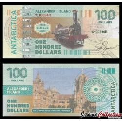 ILE ALEXANDRE Ier - Billet de 100 DOLLARS - Locomotive L'Aigle 1864 - 2017