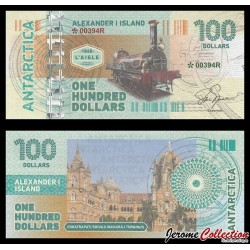 TERRE ALEXANDRE - Billet de 100 DOLLARS - Locomotive L'Aigle 1864 - 2017