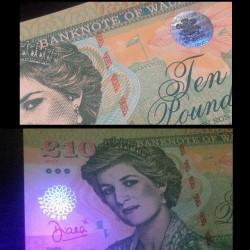 PAYS DE GALLES / WALES - Billet de 10 Pounds - Lady Diana - 2017