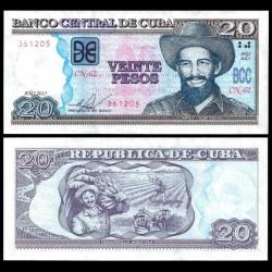 CUBA - Billet de 20 Pesos - Camilo Cienfuegos - 2013