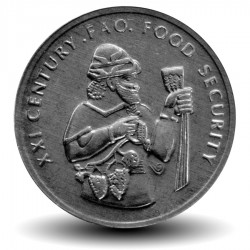 TURQUIE - PIECE de 50000 Lira - FAO, Ancien negociant en vin - 1999 Km#1103
