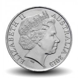 AUSTRALIE - PIECE de 20 Cents - Remembrance Day - 2015