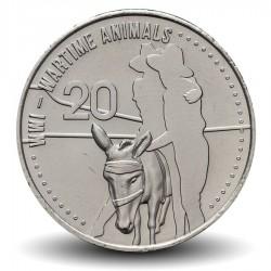 """AUSTRALIE - PIECE de 20 Cents - """"Home Front"""" - 2015"""