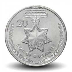 AUSTRALIE - PIECE de 20 CENTS - Médaille de la bravoure de la Reine - 2017